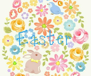 april, bunny, and easter image