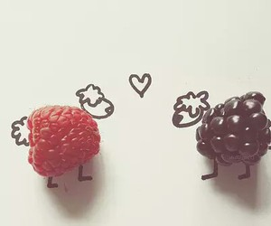 blueberry, sheeps, and heart image