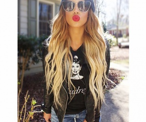 hair and sunglasses image