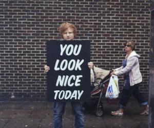 ed sheeran, nice, and ed image