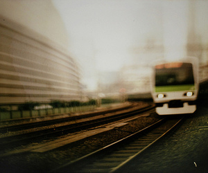 bokeh, photography, and train image