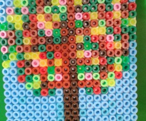 hama beads, craft ideas for kids, and ideas for hama beads image