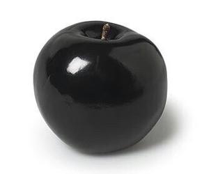 black, apple, and grunge image