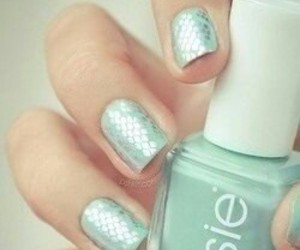 nails, essie, and nail art image