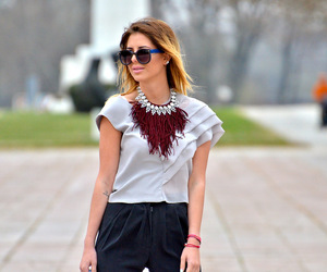 accessories, blonde, and fashion blogger image