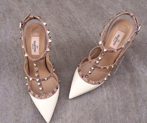 shoes, Valentino, and white image