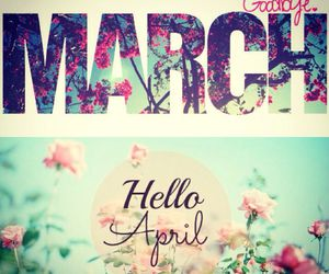 april, monthes, and hello image