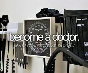 doctor, future, and bucket list image