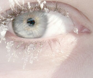 eye, pale, and white image