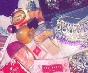 diamond, perfume, and pink image