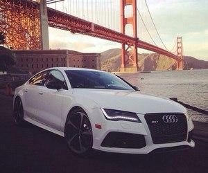 audi, luxury, and car image