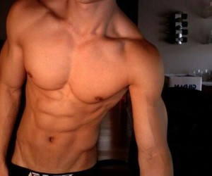abs, boys, and summer image