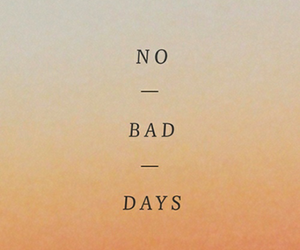 quote, bad, and days image