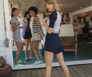 Taylor Swift, keds, and photoshoot image