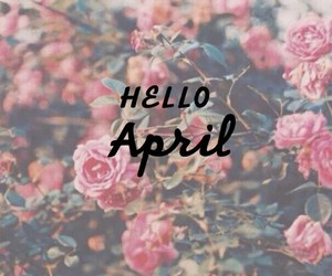 april and spring image