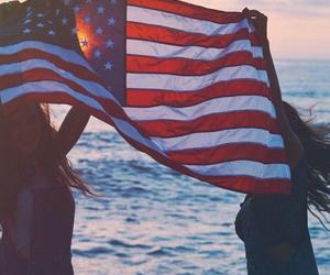 america, usa, and flag image
