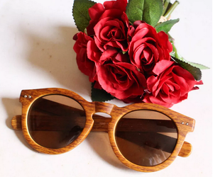 flowers and sunglasses image
