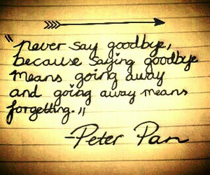 goodbye, quote, and lovely image