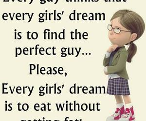 funny, food, and Dream image