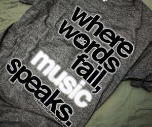 music, quote, and speaks image