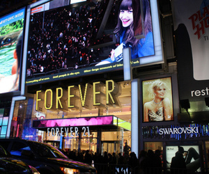 forever 21, store, and city image