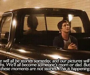 quotes, logan lerman, and movie image