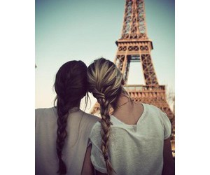 paris, best friends, and friends image