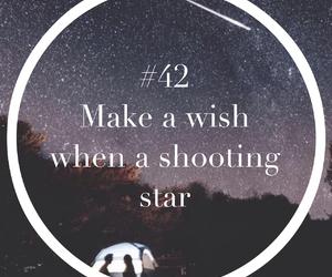 stars, wish, and shooting star image
