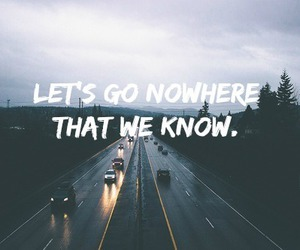 nowhere, road, and travel image