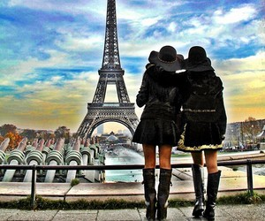 beautiful, girl, and paris image