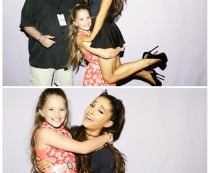 ariana grande, cute, and fan image