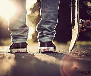 vans, skate, and boy image