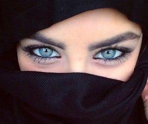 blue eyes, islam, and mashallah image