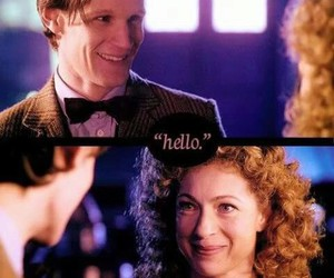 couple, doctor who, and smile image