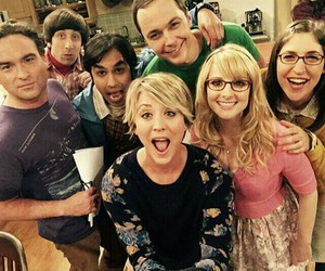 the big bang theory, leonard, and tbbt image