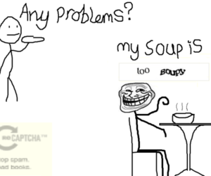 funny, lol, and soup image