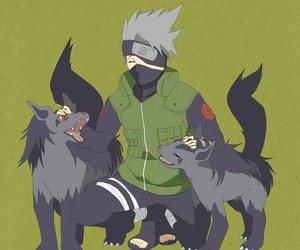 kakashi, naruto, and pokemon image