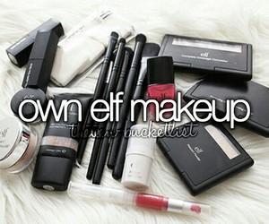 makeup and bucket list image