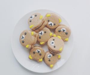 cute, food, and bear image