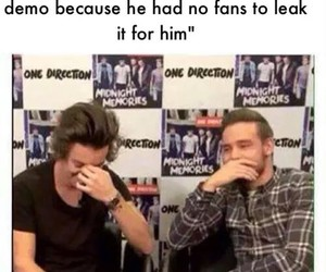 one direction, naughty boy, and funny image