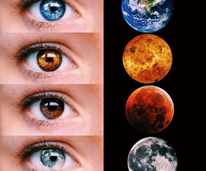 planet, eyes, and eye image