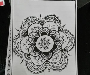 black, doodle, and white image