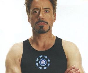robert downey jr, iron man, and Marvel image