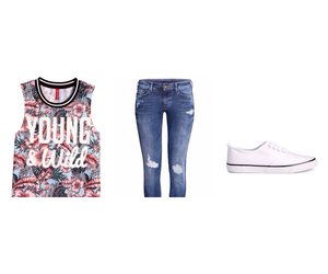 fashion, H&M, and outfit image