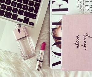 vogue, girly, and lipstick image