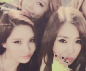 girls generation, sooyoung, and yoona image