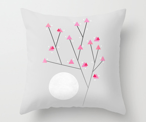 abstract, society6, and cherry blossom image