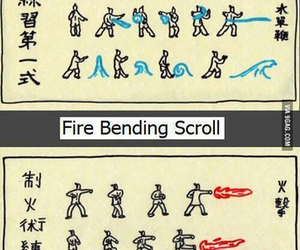 anime, elements, and scroll image