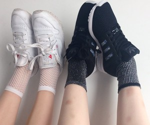 pale and socks image