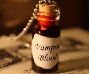 vampire, blood, and vampire blood image
